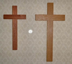 Maple and Oak Cross